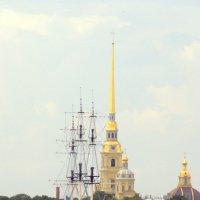 Вид на город с Петровской набережной   5 :: Сергей