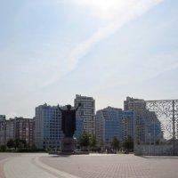 Площадь перед библиотекой :: Вера Щукина