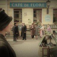 "На улицах Парижа 2(На съёмках фильма""Вертинский"")... :: Sergey Gordoff"