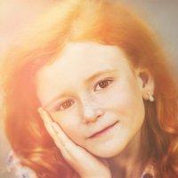 Девочка,которая полюбила солнце :: Мария Буданова