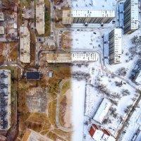 Осень vs Зима :: Евгений Логинов