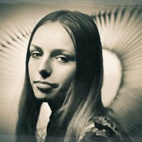 Портрет студентки / 1970 / :: Цветков Виктор Васильевич