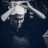 Серьезная девушка, боец кэндо :: Ксения OKDMUSE