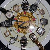 Часы показывают время :: Валерий