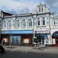 Старинный дом на Ленинградской :: Надежда