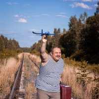 Лететь или ехать? :: Alex Bush