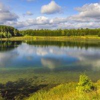 Озеро Лежнинское :: Галина Новинская