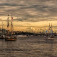 """В нашу гавань заходили корабли..."" :: Elena Ророva"