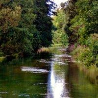 Речка ,неспешно  , дорожкой серебрится  ! :: backareva.irina Бакарева