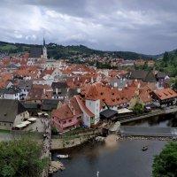 вид на чешский Крумлов :: Осень