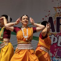 Индийский танец :: Анастасия Богатова