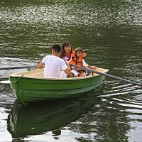 Трое в лодке :: Валентин Семчишин
