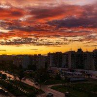 Закат в последний день лета. :: Виктор Иванович