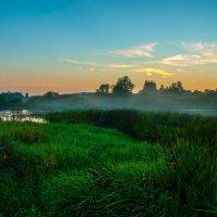 Заливные луга Угры на закате :: Alexander Petrukhin