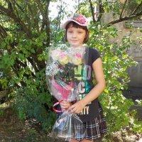 Цветы для учительницы :: Фотогруппа Весна - Вера, Саша, Натан