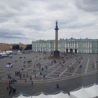 Взгляд из окна.Дворцовая площадь. :: Жанна Викторовна