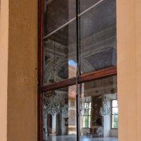 Австрия. Грац. Замок Эггенберг. Взгляд через окно. Планетарный зал. :: Надежда Лаптева