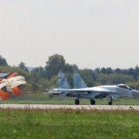 Су - 35С после приземления :: Андрей Снегерёв