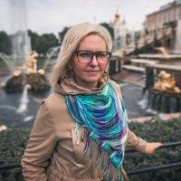 Портрет в Петергофе :: Сергей Коростелев