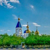 Церковь Актау :: Анатолий Чикчирный