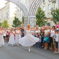 Балет на улицах Москвы :: ИРЭН@ .