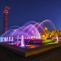 Ночной фонтан :: Дмитрий Рутковский