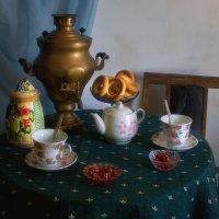 Чай с крыжовенным вареньем :: Наталья S