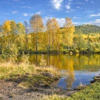 Рисует осень. :: Сергей l