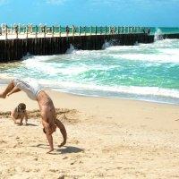 Пляжные радости :: Gennady Legostaev