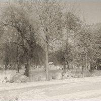 Андрушевка, усадьба Терещенко, старые фото 20-х годов XX века :: Сергей Ионников