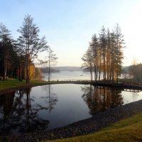 Искусственное озеро :: Vyacheslav Gordeev