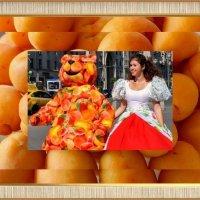 Благодарю! АНАТОЛИЯ КОЛОСОВА за персиковый подарок! :: Надежд@ Шавенкова