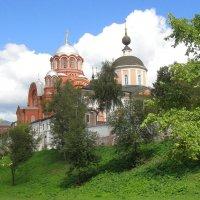 У стен Покровского монастыря в Хотькове :: olgadon Довженко