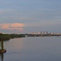 Киев. Днепр. Вечер.... :: Татьяна Ларионова