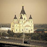Собор благоверного князя Александра Невского на Стрелке :: Андрей Головкин