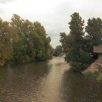 Речка Охта на окраине  города :: Фотогруппа Весна - Вера, Саша, Натан