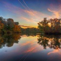 Осенний закат полыхал... :: Болеслав (Boleslav)