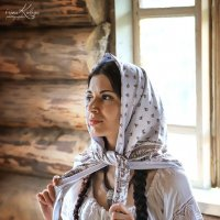 Барышня - крестьянка :: Ирина Кулага