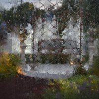 Осень. Вид из окна :: Леонид Иванчук