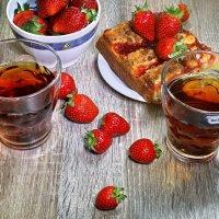 Чай  с клубникой :: Евгений Печенин