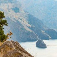 Прекрасный вид на Георгиевскую скалу с мыса Фиолент :: Валерий Ткаченко
