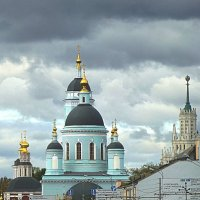 Храм Преподобного Сергия Радонежского в Рогожской слободе :: Лидия Бусурина