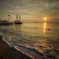Время как море, развязывает любые узлы. (Мердок Айрис) :: Александр Бойко