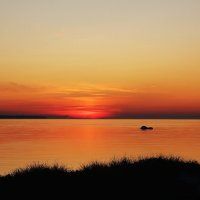Балтийский закат :: Михаил Лесин