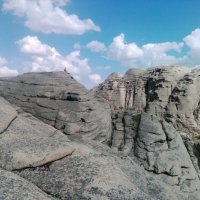 Восхождение на вершину в горах Коныркызылтау... :: Андрей Хлопонин
