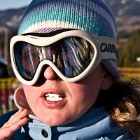 Лыжница :: Виктор Наливайко