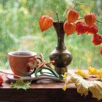 За окном барабанит дождь... :: Лидия Суюрова