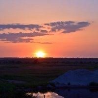 Закатное солнце :: Татьяна Ларионова