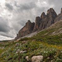 Доломитовые Альпы. Треккинг к Тре Чиме ди Лаваредо. :: Надежда Лаптева