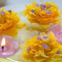 Две свечи :: Ольга Бекетова